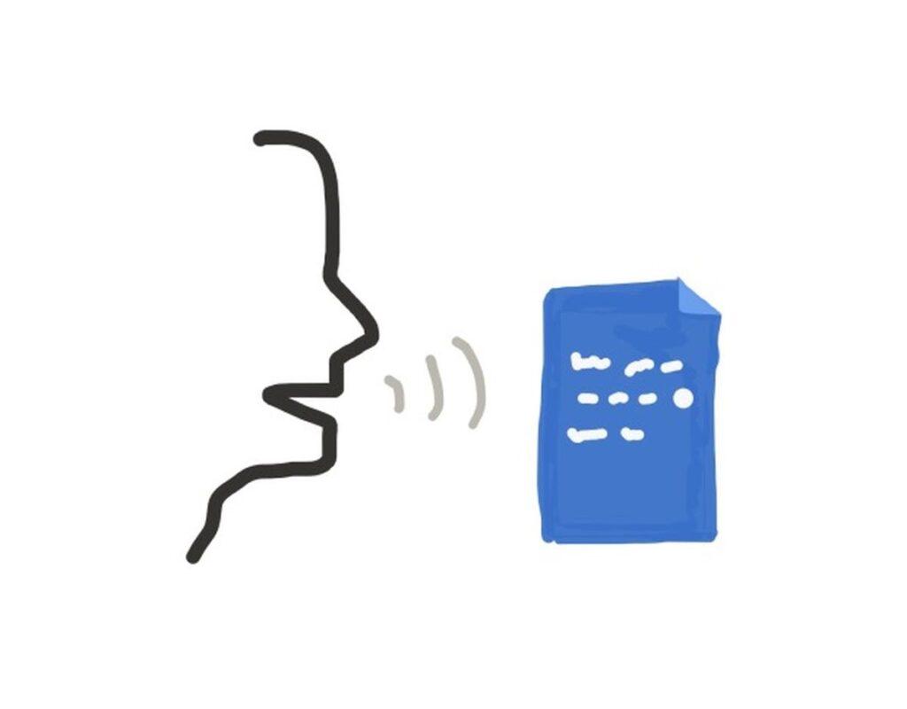 تبدیل گفتار به نوشتار در word