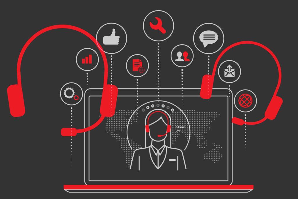 تخلیه مراکز تماس به دلیل پاندمیک کرونا و راه حل هوش مصنوعی برای آن