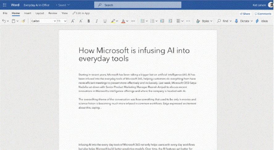 خدمات رونویسی در ورد مایکروسافت آفیس
