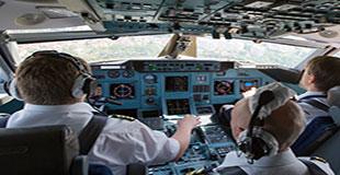 پردازشمتن در کابین هواپیما