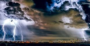 استفاده از تواناییهای هوش مصنوعی برای پیش بینی طوفانها