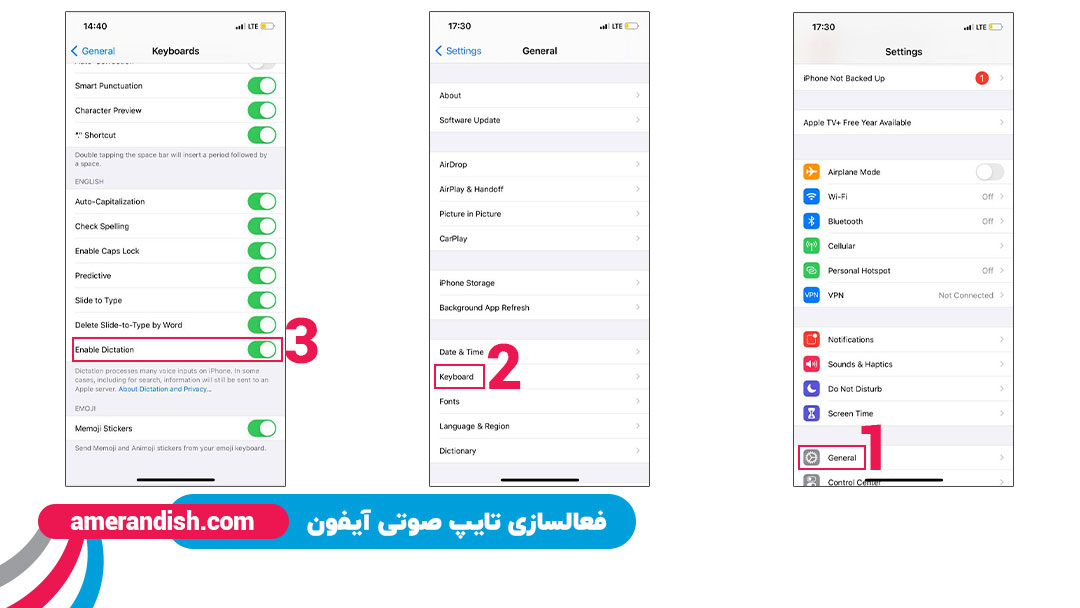 اضافه کردن زبان فارسی به Gboard