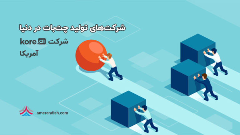 """معرفی دستیار مجازی و چتبات """"بدون کد"""" شرکت kore.ai"""